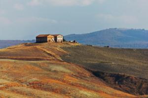 paesaggio ideale per una casa in campagna toscana