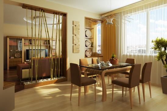 Arredare una casa in stile etnico studio architettura for Arredamento sala da pranzo